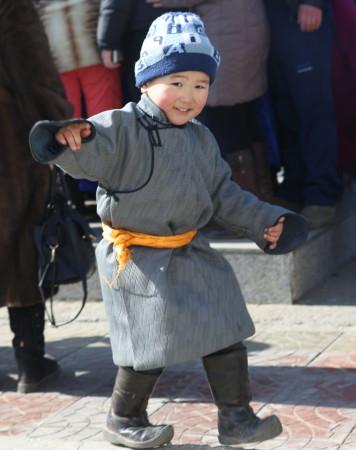 Mongolia Boy by Yves Monnier