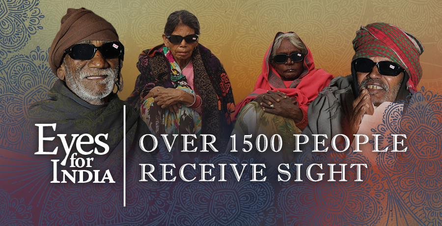 Eyes for India: Over 1500 People Receive Sight