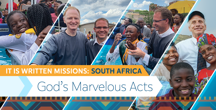 God's Marvelous Acts title picture