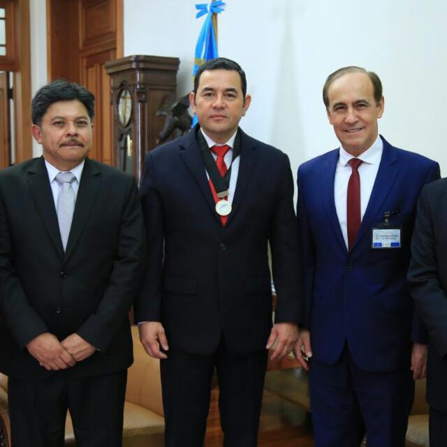 butler, Guatemalan president, Robert Costa